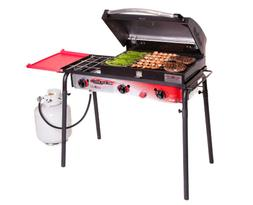 3-Burner Portable Propane Gas Grill Stove Outdoor Cooking Bb