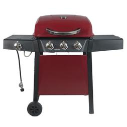 3 Burner Propane Gas Grill Warming Rack Food Cooker Grill Ou