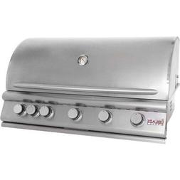 """Blaze Grills 40"""" 5-Burner Built-In Gas Grill with Rear Infra"""