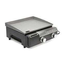 Cuisinart - Gourmet 243 sq. in. Griddle - Black stainless