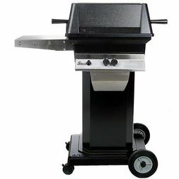 PGS A30 Cast Aluminum Natural Gas Grill on Black Portable Pe