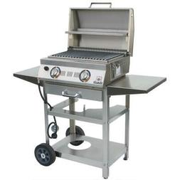 allabout 2 burner infrared propane gas grill