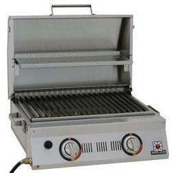 Solaire AllAbout 2-Burner Portable Infrared Propane Gas Gril