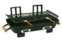Century Cast Iron Charcoal Hibachi with Cast Iron Grill Grid