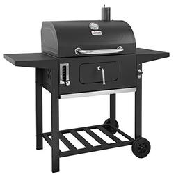Royal Gourmet 24 Inch Charcoal Grill,BBQ Outdoor Picnic, Cam
