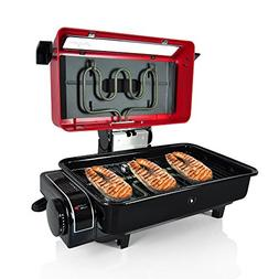 NutriChef Electric Grill Roaster Indoor & Outdoor Grilling B