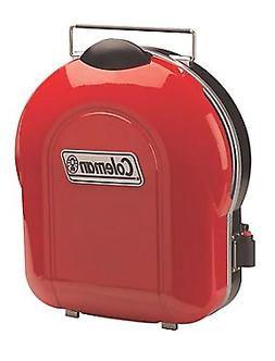 Coleman Fold N Go + Propane Grill in Red