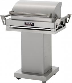 """TEC 36"""" G-Sport FR Natural Gas Grill On Stainless Steel Pede"""