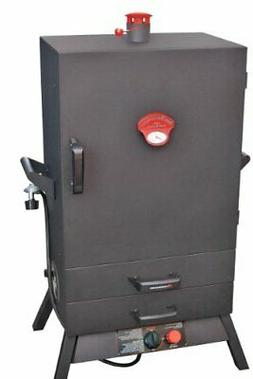 Gas Easy Access 2 Drawer WIDE Vertical Smoker 38 in.