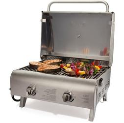 Cuisinart Gas Grill Portable Outdoor BBQ Stainless Steel Coo