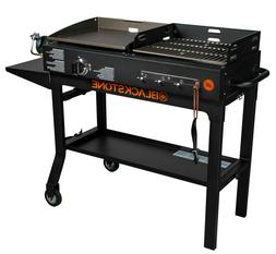 Grill BBQ Griddle and Charcoal Blackstone Duo Combo Flat Top