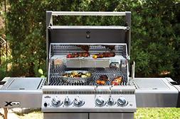 Napoleon Grills LEX485RSIBNSS-1 with Infrared Side & Rear Bu