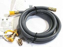Hongso HRTA1-2 Natural Gas and Propane Gas Hose Assembly for