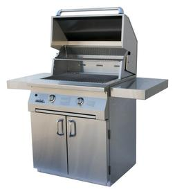 Solaire 30-Inch InfraVection Natural Gas Cart Grill, Stainle