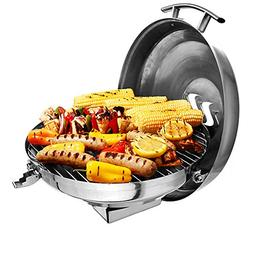 Camco Kuuma Premium Stainless Steel Kettle Gas Grill Compact