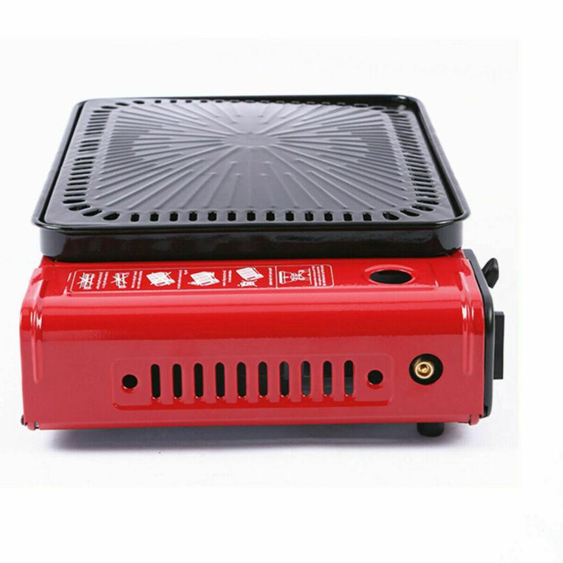 """17"""" Portable BBQ Grill Gas Stove tabletop Outdoor US"""