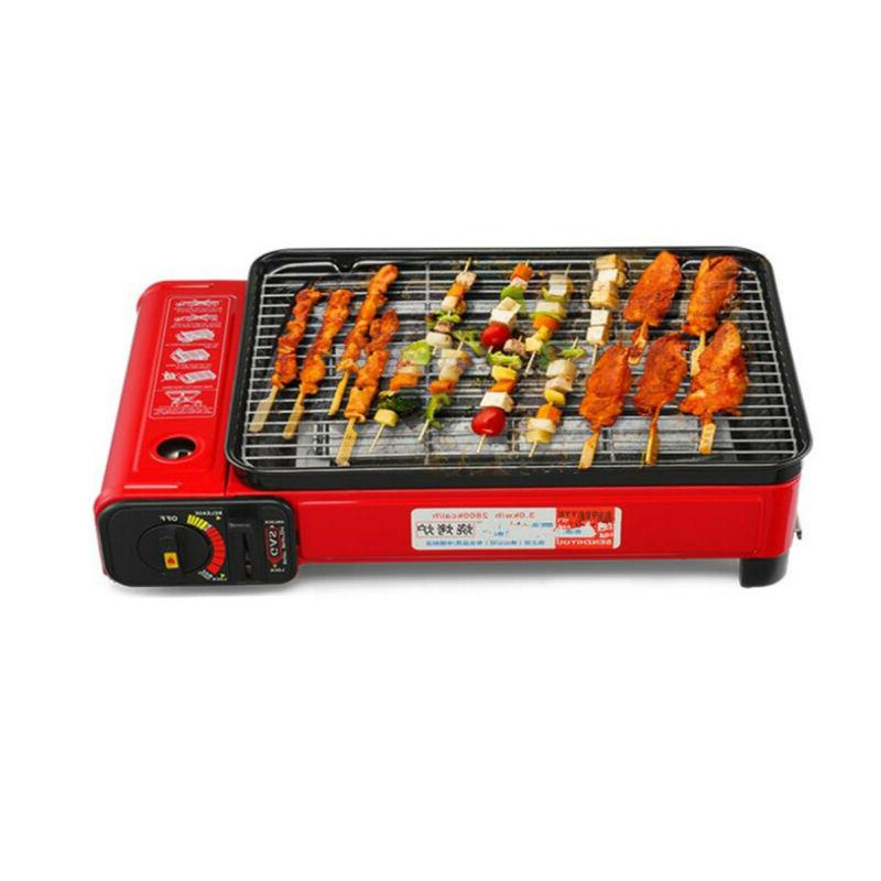 """17"""" Portable BBQ Grill Gas tabletop US"""