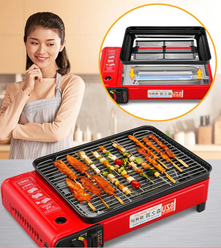 17 portable large smokeless bbq grill gas