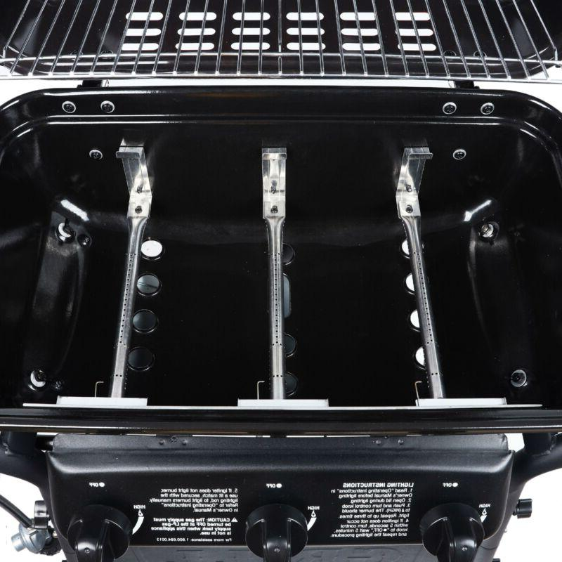 3 Gas Grill Rack Compact Cooker Griddle