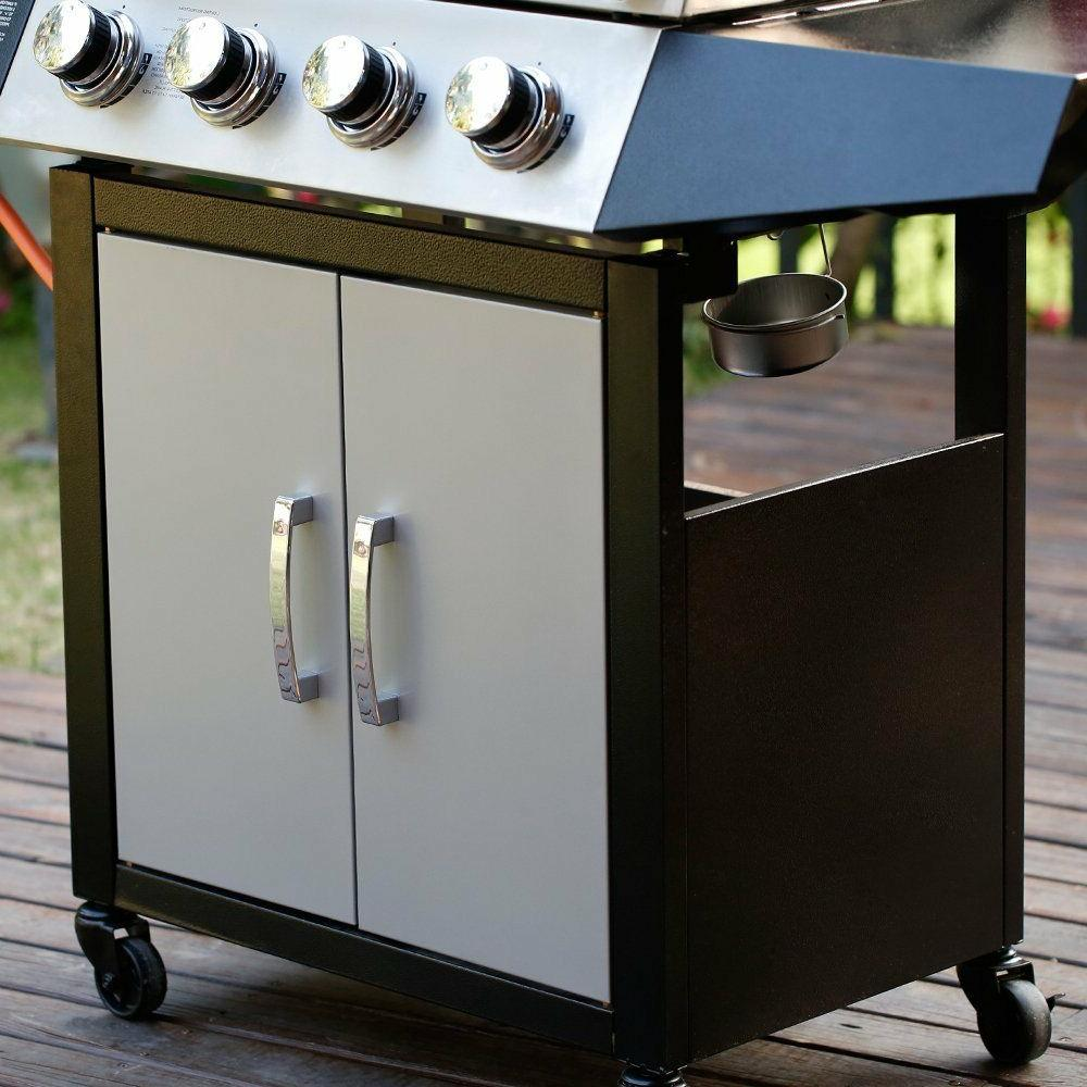 4+1 Stainless Steel Cooking BBQ Gas