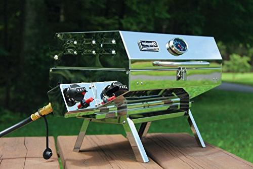 """Camco Olympian 5500 Stainless Steel Portable Connects To Low Supply Includes RV And Folding Legs 180"""""""