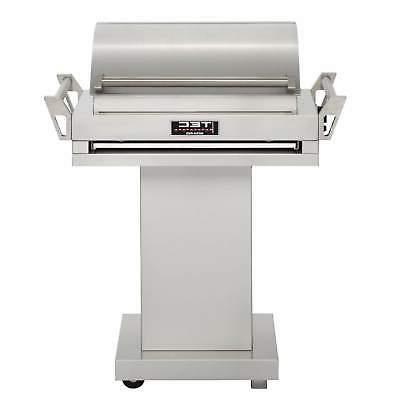 TEC G-Sport FR Propane Gas Grill On Stainless Steel Pedestal