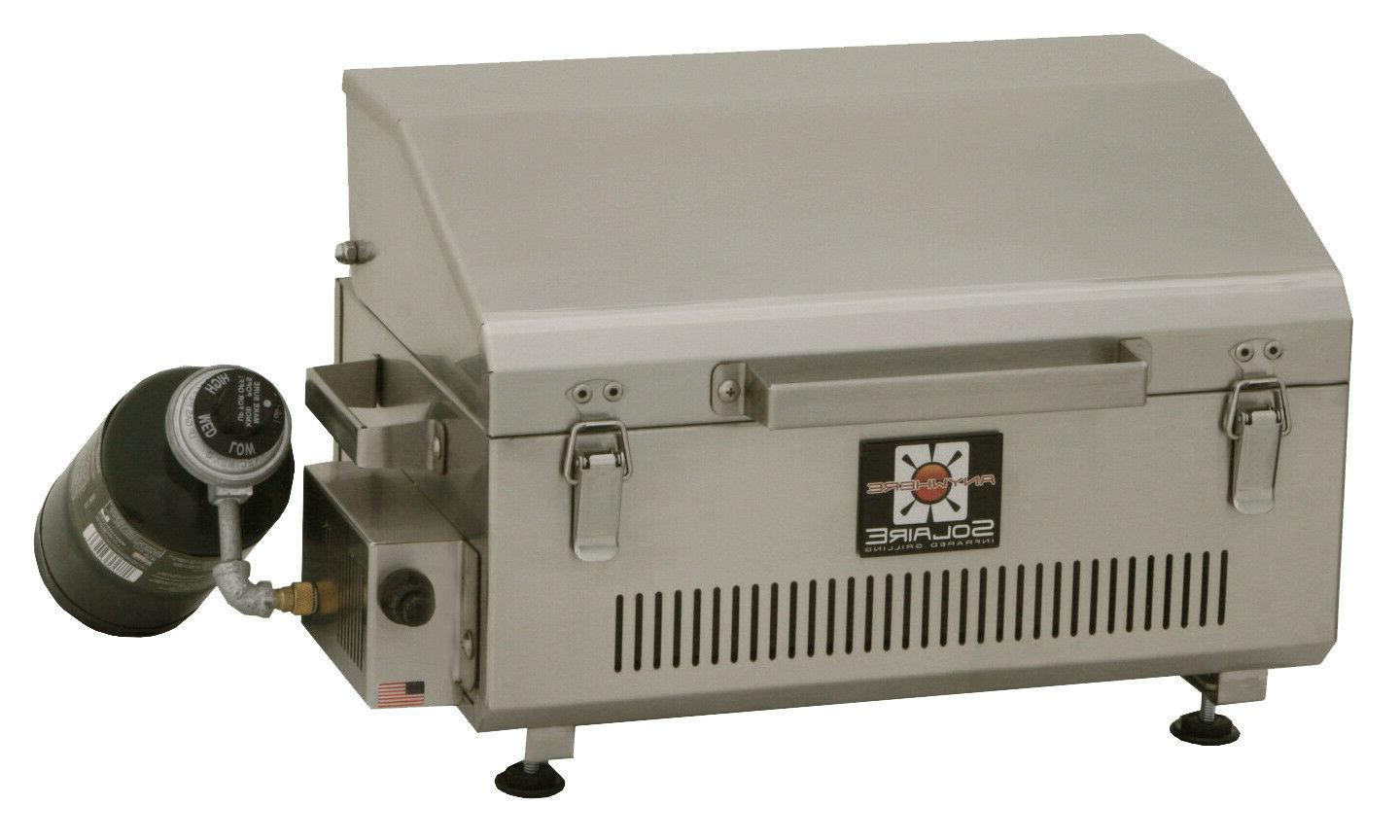 Solaire Propane Grill~Stainless Steel ~