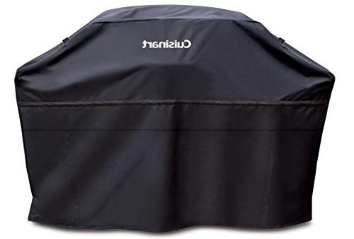 "Cuisinart CGC-70B Heavy-Duty Barbecue Grill Cover, 70"", Blac"