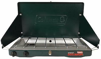 Coleman Gas Camping Stove Grill With 2 BTU