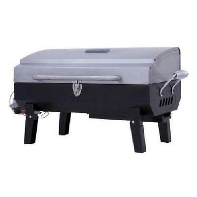 Propane Gas Tabletop Grill Outdoor Party Tailgate Camping BBQ