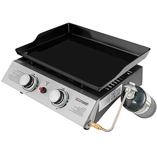 Royal Gas Griddle, for Outdoor Camping or Picnicking
