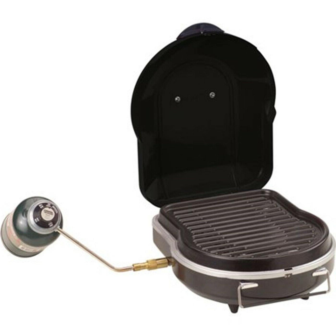 Coleman Portable Gas Grill Cooking Fold N Go Outdoor Camping