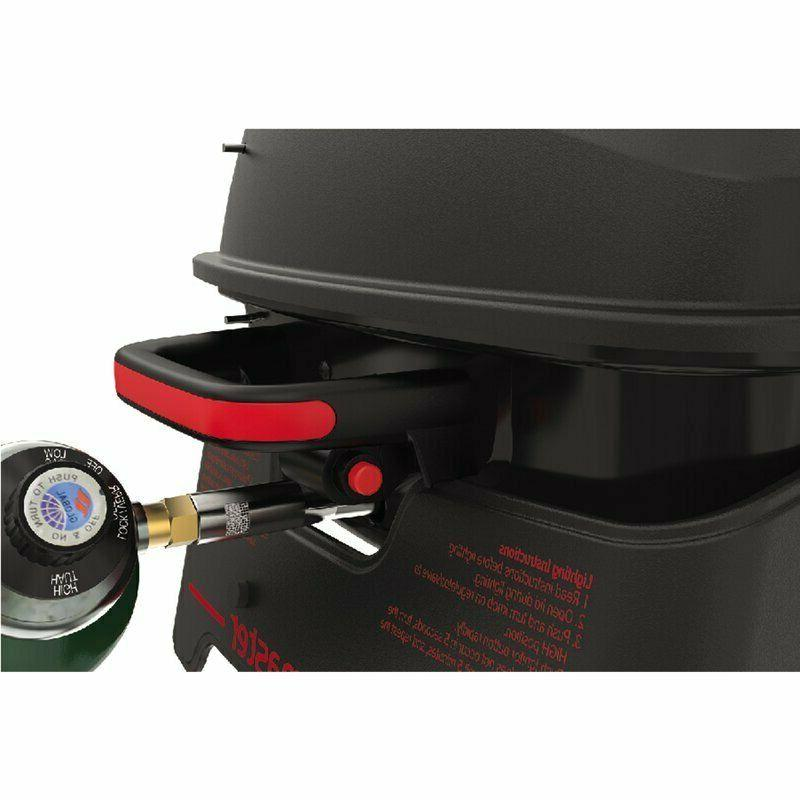 portable grill BBQ Tailgate Gas Grill,Red+Black