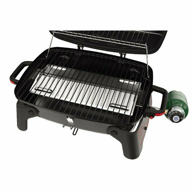 portable grill Tabletop BBQ Gas Grill,Red+Black