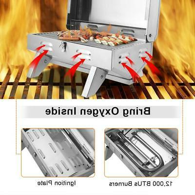 Portable Gas Cooker Stove Grill BBQ