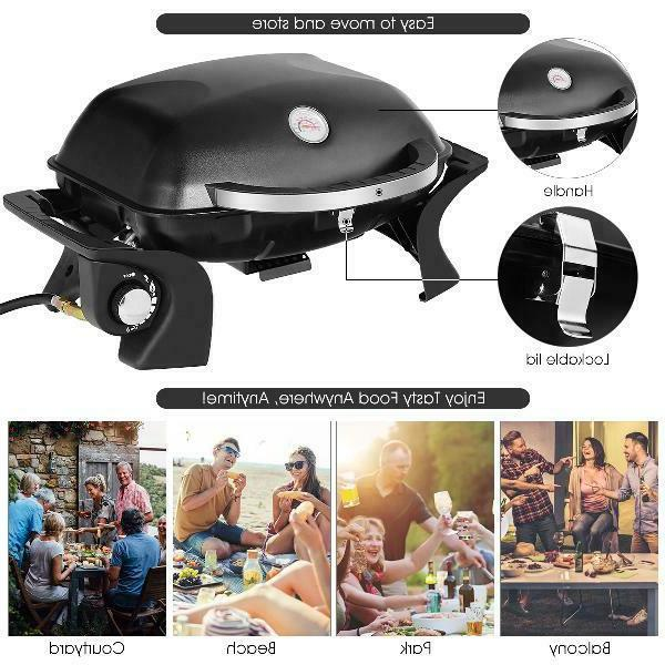 Gymax Grill Barbecue