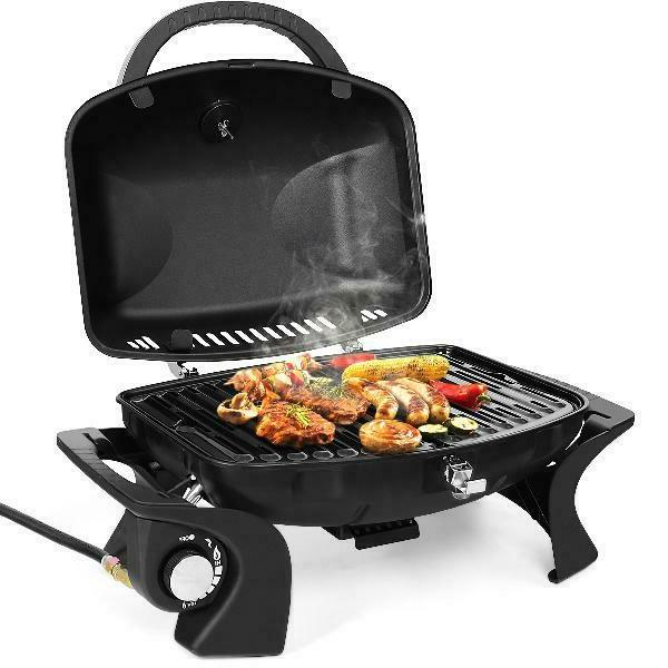 Gymax Propane Gas Grill Barbecue Outdoor
