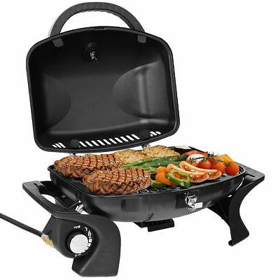 portable propane gas grill bbq tabletop camping