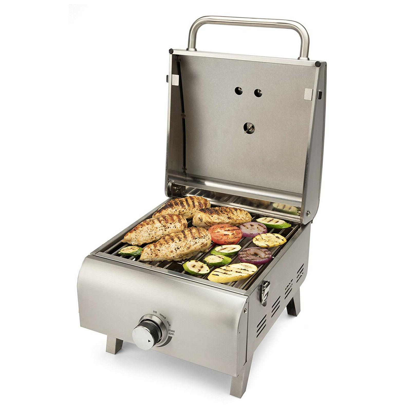 Portable Grill Stainless RV Outdoor