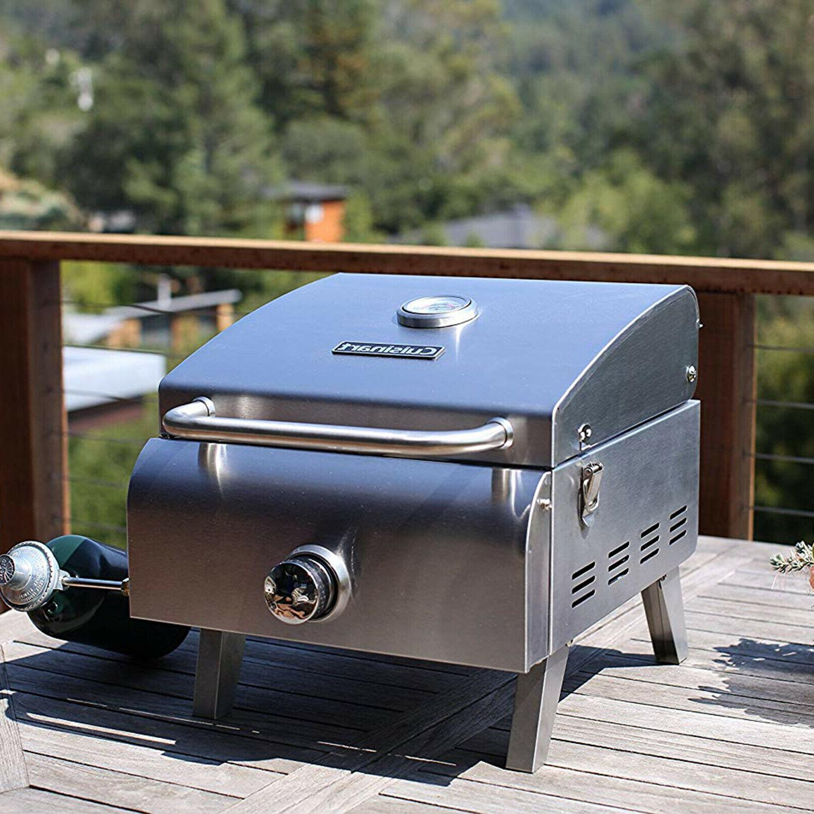 Portable Grill Stainless Outdoor Backyard