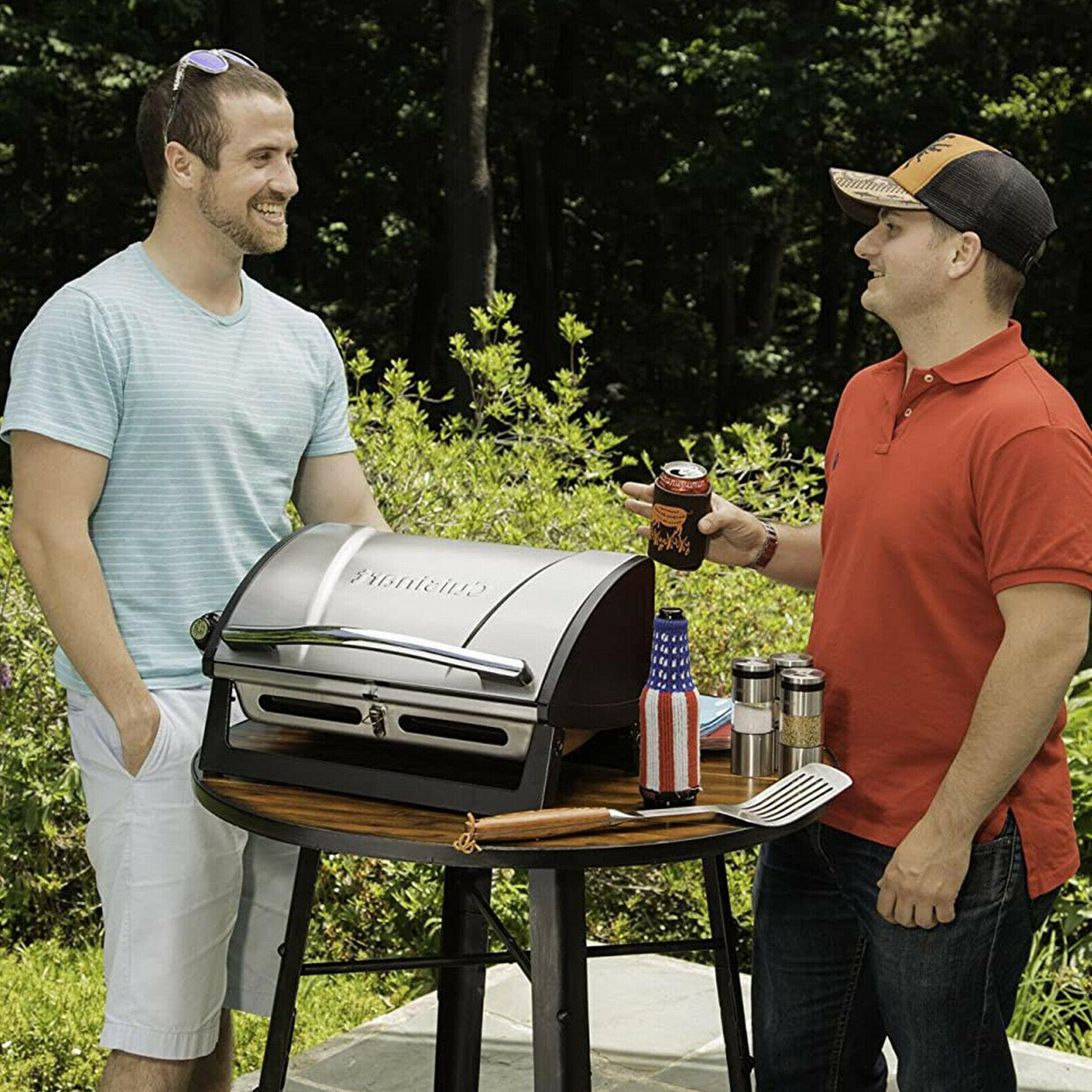Portable Propane Steel BBQ Outdoor Camp