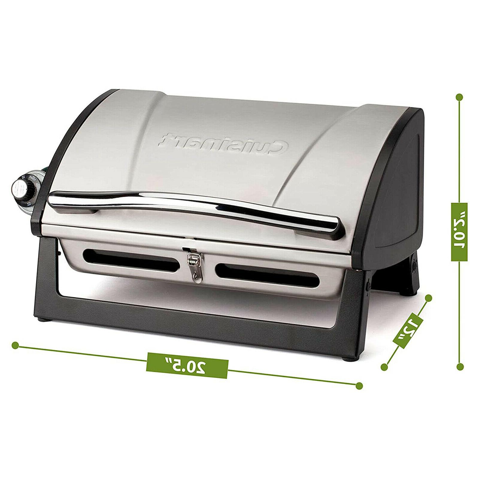 Portable Grill Steel Camp Barbecue