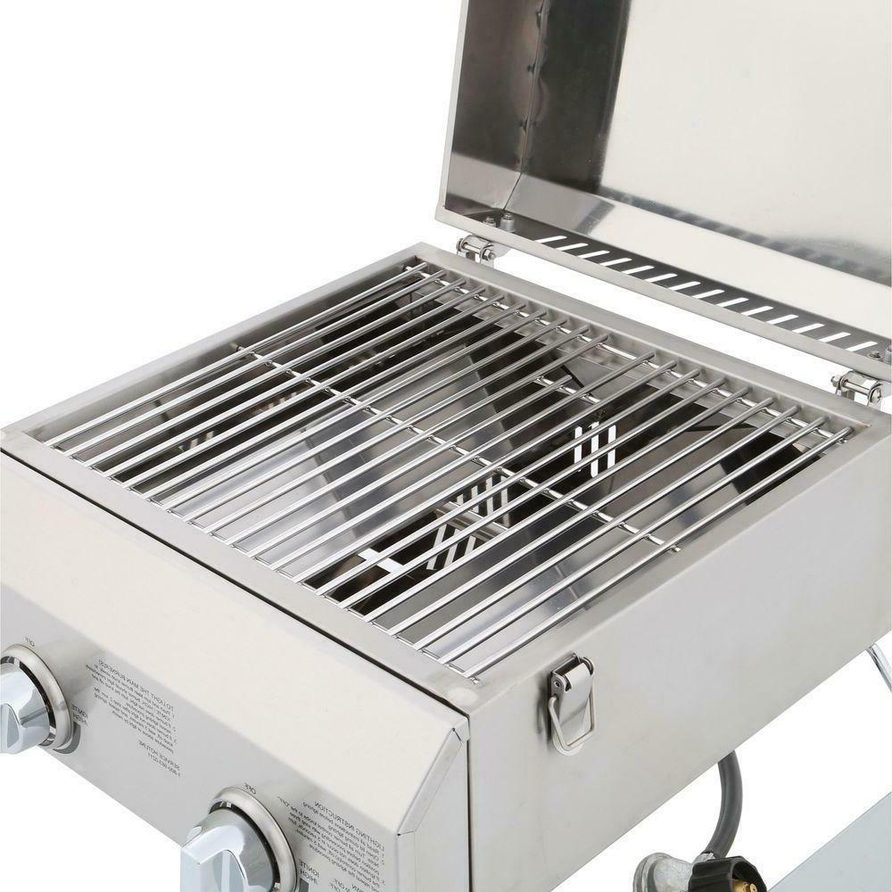 Table Grill Double Burner Set