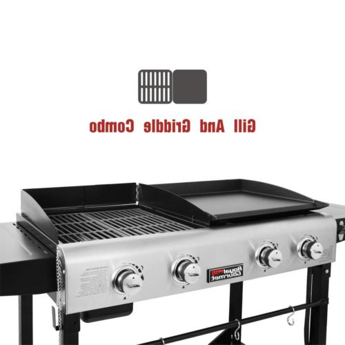 Premium 4-Burners Gas Grill and Combo