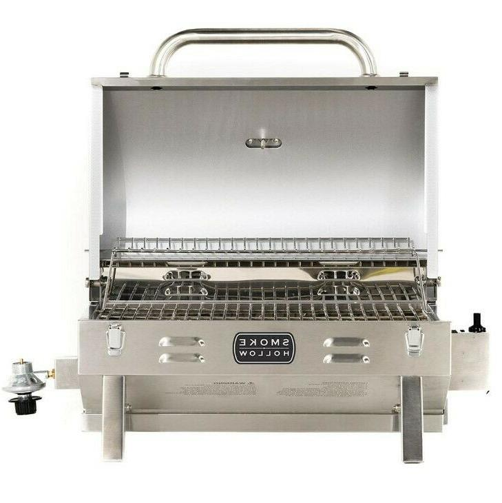 Propane Gas Grill Portable Outdoor Stainless