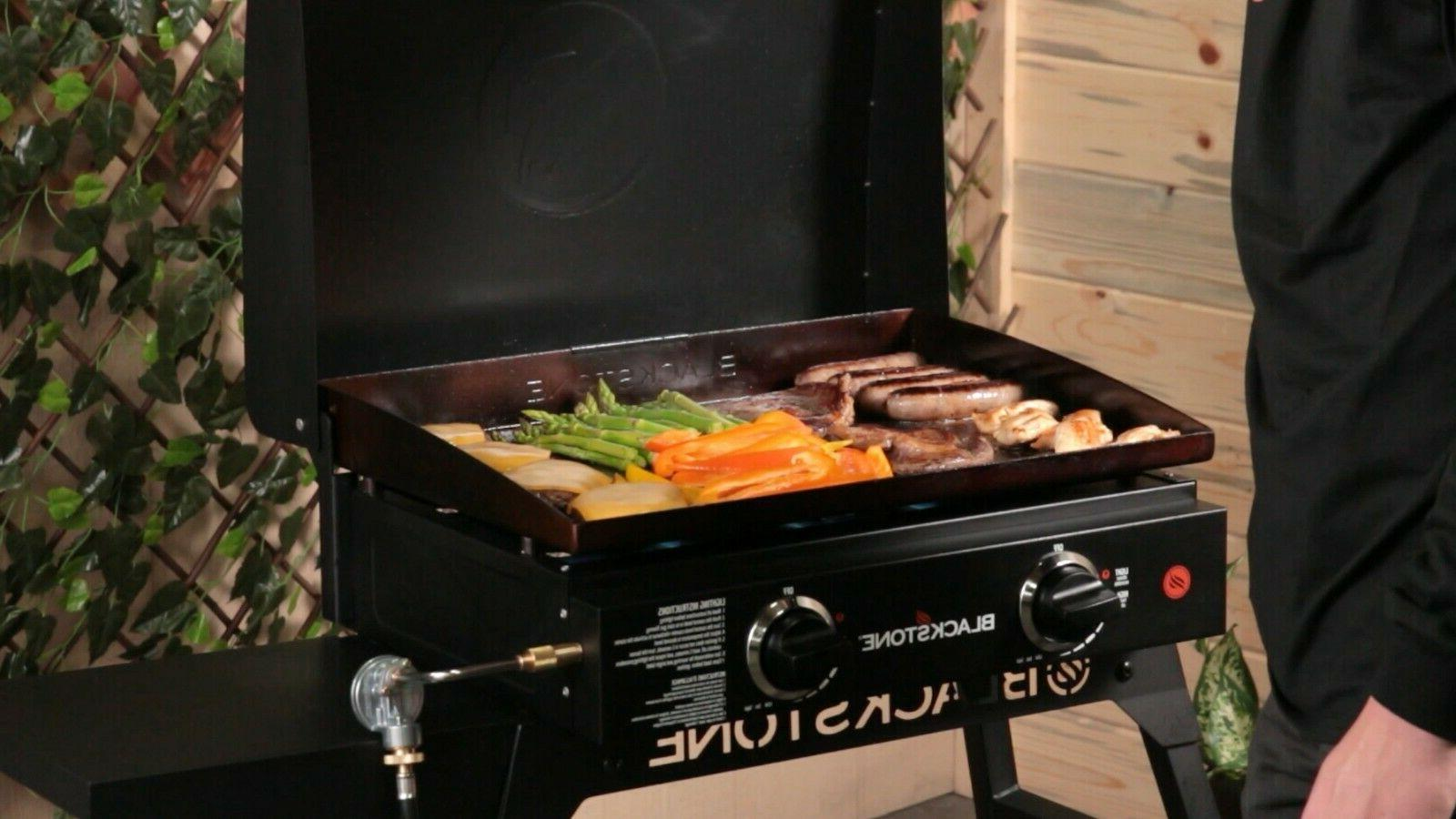 Table Griddle 22 Portable Hood Outdoor