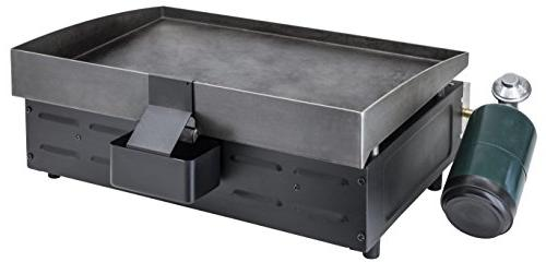 Blackstone 22 Inch Gas Griddle Propane - 2 Adjustable - Grease - For While Picnicking -