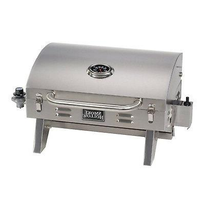 Tabletop Propane Gas Grill Barbecue BBQ Burner Stainless Ste
