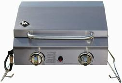Member's Mark Portable Stainless Steel 2-Burner Gas Grill wi