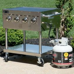 """New Backyard Pro C3H830 30"""" Stainless Steel Outdoor Propane"""